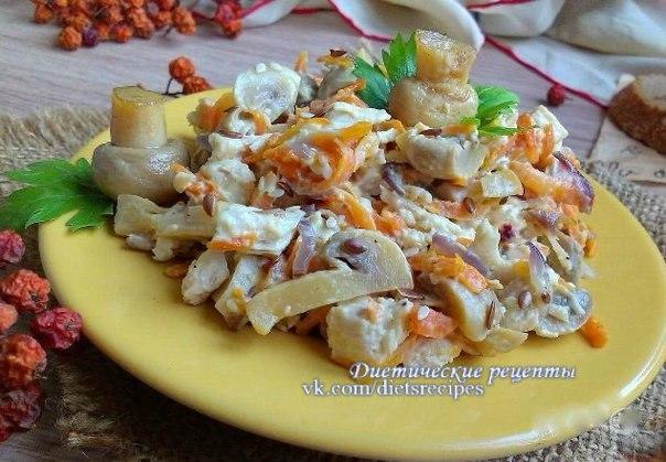 Рецепты кабачков с капустой
