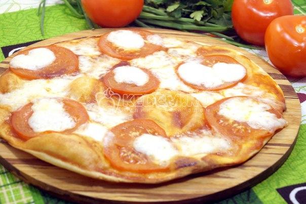 Рецепт пиццы быстрый рецепт без дрожжей