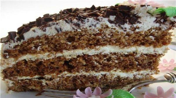 Рецепт торта бедный студент с пошаговым фото