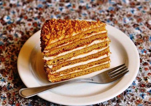 Рецепт торт медовый чудо