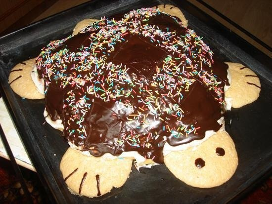 Торт черепаха простой рецепт с фото в домашних условиях