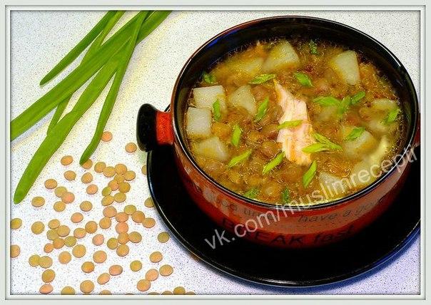 Суп из чечевицы рецепт пошагово с курицей и картошкой