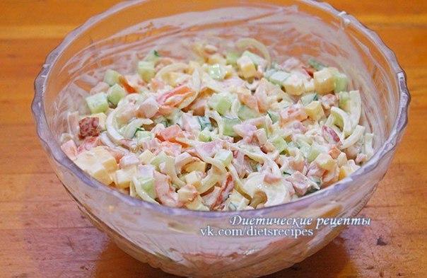 Русская красавица салат рецепт пошагово 144