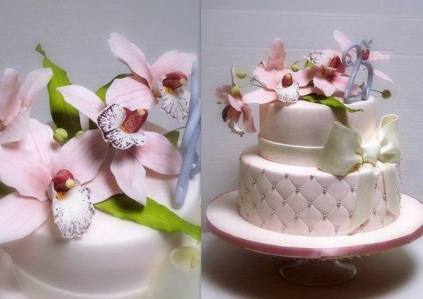 Торты из марципана фото