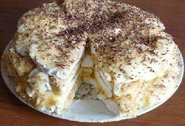 Торт из зефира рецепт видео