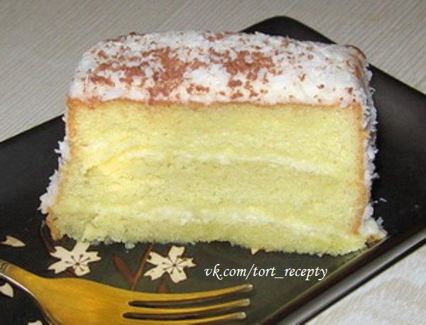 Торт нежный пошаговый рецепт