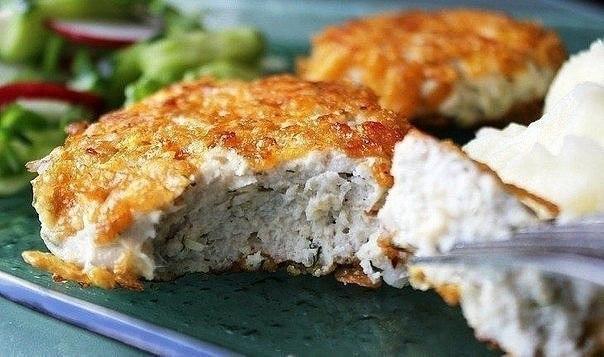 Котлеты из кусочков куриного филе рецепт с пошагово 138