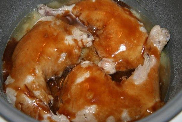 Курица в мультиварке в кисло-сладком соусе рецепты