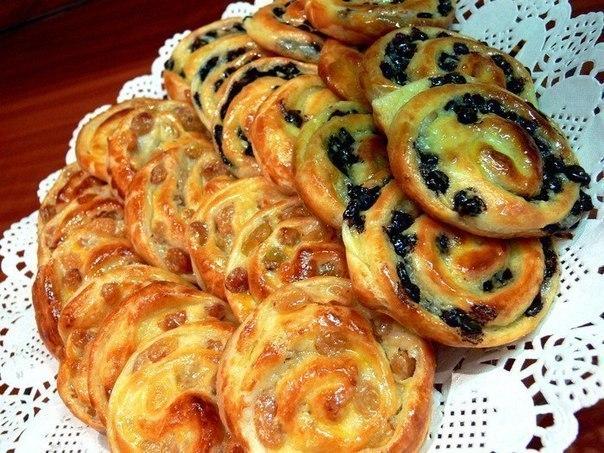Французские булочки завитушки