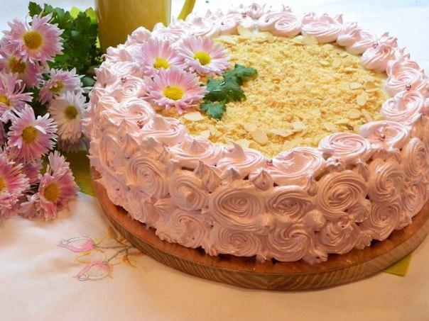 Нежный торт на сметане рецепт с фото