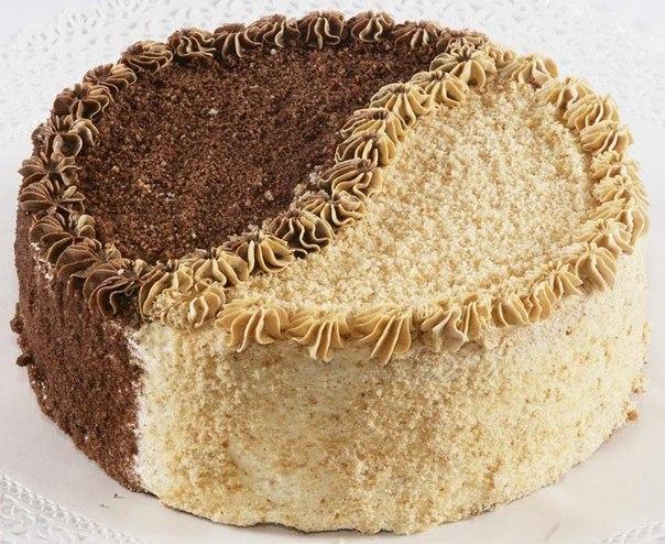 Большой бисквитный торт рецепт пошагово в домашних условиях
