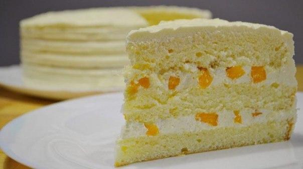 цедрой Рецепты бисквитный лемона с торт