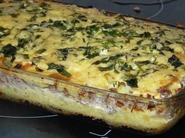 Картошка в духовке с фаршем и с сыром в духовке рецепт пошагово