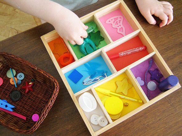 Развивающие игры своими руками для детей 2 лет картинки