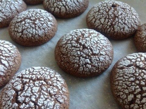 шоколадно-кофейное печенье с корицей только новые