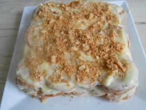 торт из слоеного печенья ушки с заварным кремом вам предстоят