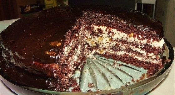 Торт старая прага рецепт с фото пошагово