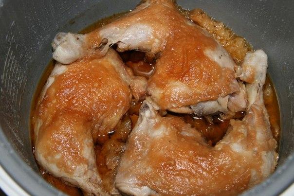 Курица в соусе в мультиварке рецепты с фото нарезанная