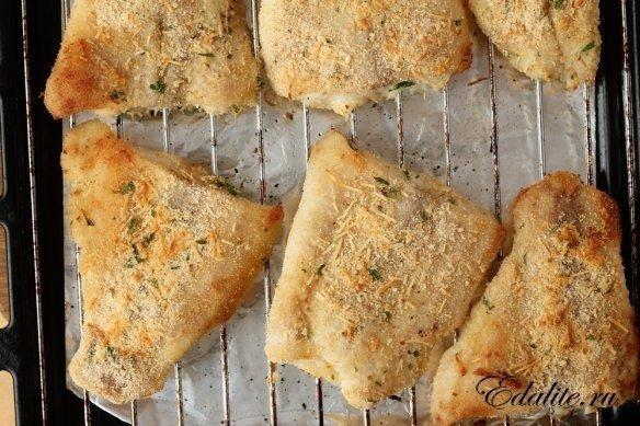 Филе рыбы в панировочных сухарях рецепт пошагово