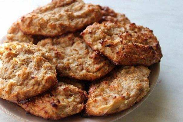Творожно овсяное печенье диетическое рецепт с фото