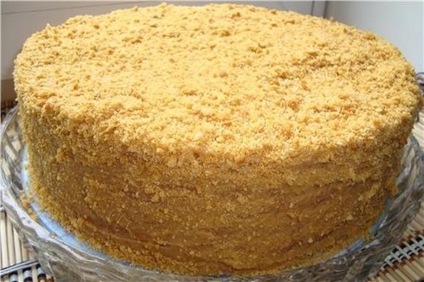 Медовый торт, рецепт с фото