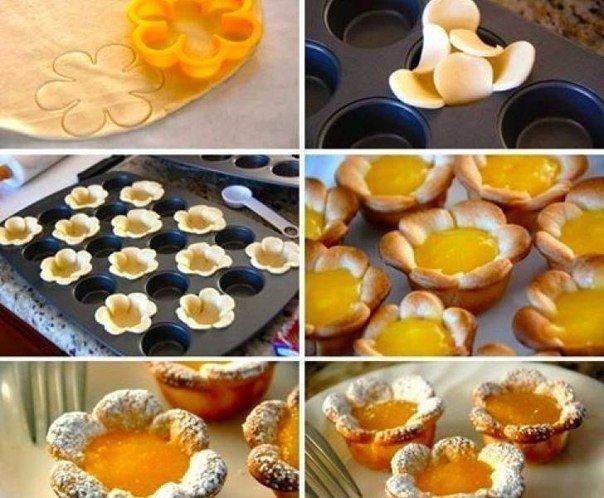 Десерт из теста рецепты