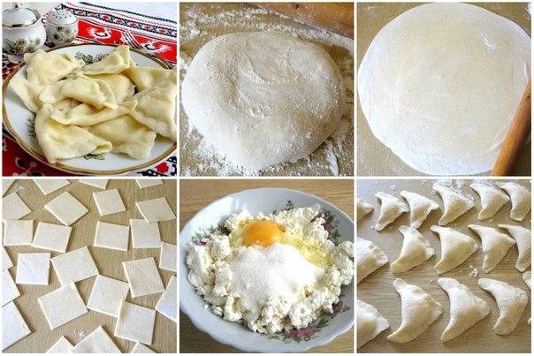 Как сделать вареники с творогом рецепт 893
