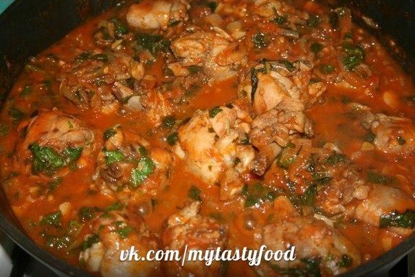 Блюда из курицы рецепт в мультиварке с овощами