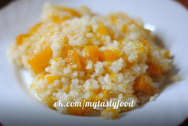рецепт рисовой каши с тыквой в мультиварке