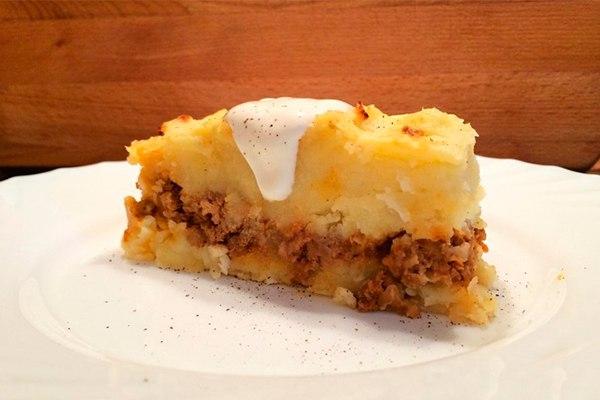 Картофельная запеканка из пюре в духовке рецепты пошагово