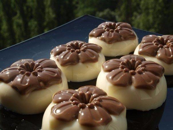 Рецепты молочно шоколадное желе
