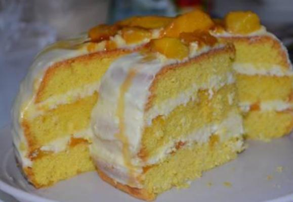 Торт персиковый рецепт с фото