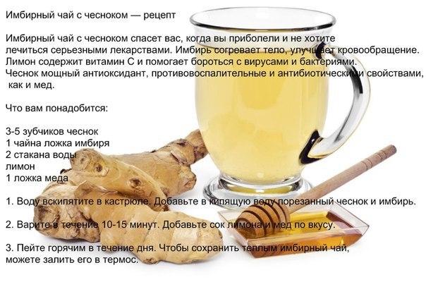 Рецепты с помощью имбиря