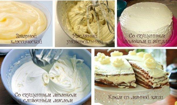 Заварной крем для торта рецепт пошагово в домашних условиях
