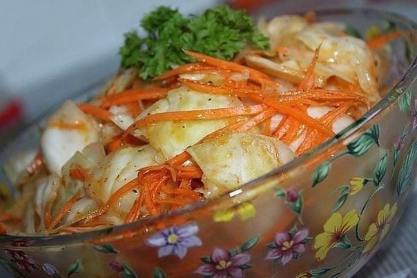 салат из капусты по корейски